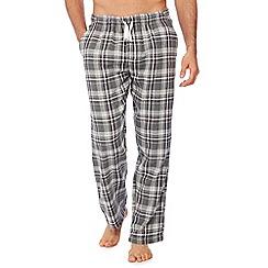 Mantaray - Grey check print pyjama bottoms