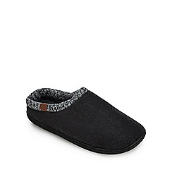 Mantaray - Grey mule slippers