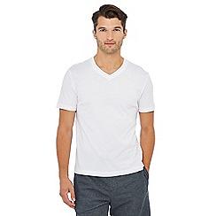 Lounge & Sleep - Big and tall white lounge t-shirt