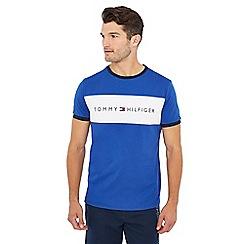 Tommy Hilfiger - Blue logo print t-shirt