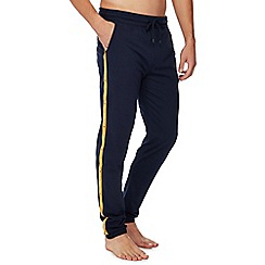 Tommy Hilfiger - Blue side stripe pyjama bottoms