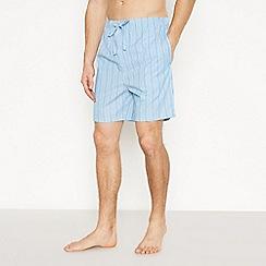 Lounge & Sleep - Blue Striped Pyjama Shorts