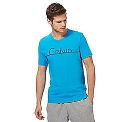 Calvin Klein - Blue logo print t-shirt