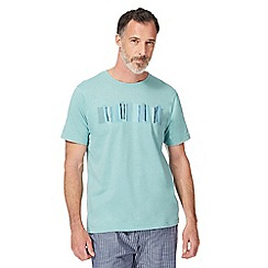 RJR.John Rocha - Big and tall light green graphic print pyjama t-shirt