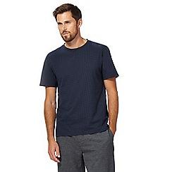 Hammond & Co. by Patrick Grant - Big and tall navy polka dot t-shirt