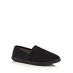 Maine New England - Navy textured slippers