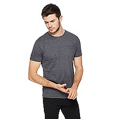 Red Herring - Black and grey stripe slim fit t-shirt