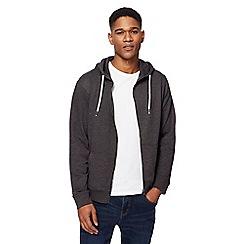 Red Herring - Dark grey zip through hoodie