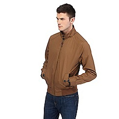 Red Herring - Big and tall tan harrington jacket