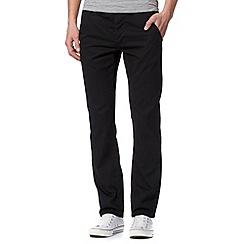 Red Herring - Black slim chino trousers