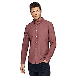 Red Herring - Red long sleeve Oxford shirt