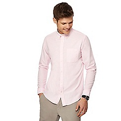 Red Herring - Pink slim fit Oxford shirt