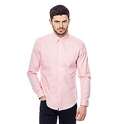 Red Herring - Big and tall pink slim fit shirt