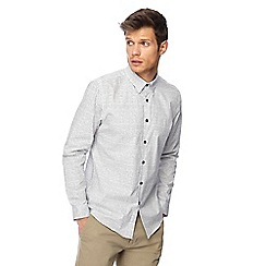Red Herring - White checked long sleeve slim fit shirt