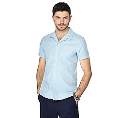 Red Herring - Light blue linen blend shirt