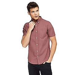 Red Herring - Red short sleeve Oxford shirt