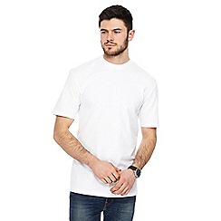 Red Herring - White crew neck drop shoulder t-shirt