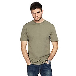 Red Herring - Khaki crew neck drop shoulder t-shirt