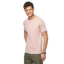 Red Herring - Big and tall pink feeder striped slim fit t-shirt