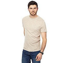 Red Herring - Natural feeder striped slim fit t-shirt