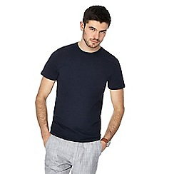 Red Herring - Navy muscle fit crew neck t-shirt