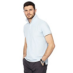 Red Herring - Big and tall pale blue polo shirt