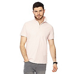 Red Herring - Pale pink polo shirt