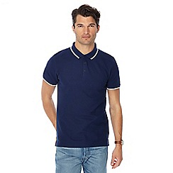 Red Herring - Set of 2 navy slim fit polo shirts
