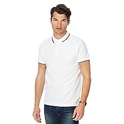 Red Herring - Set of 2 white slim fit polo shirts