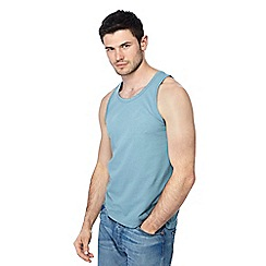 Red Herring - Big and tall aqua slim fit vest