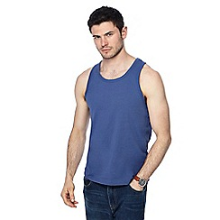 Red Herring - Big and tall purple slim fit vest