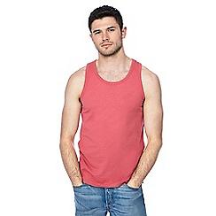 Red Herring - Bright pink slim fit vest