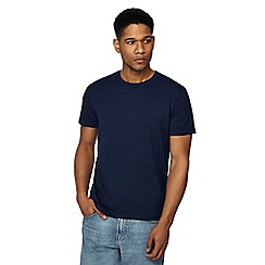 Red Herring - Big and tall navy slim fit t-shirt