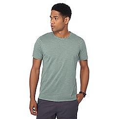 Red Herring - Big and tall khaki slim stripe print slim fit t-shirt