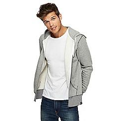 Red Herring - Grey zip through hoodie