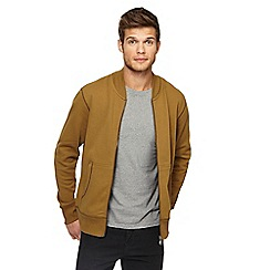 Red Herring - Dark tan baseball jacket