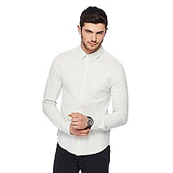 Red Herring - White jersey long sleeved shirt
