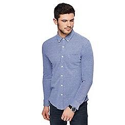 Red Herring - Blue jersey long sleeved shirt