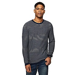 Red Herring - Navy striped jumper