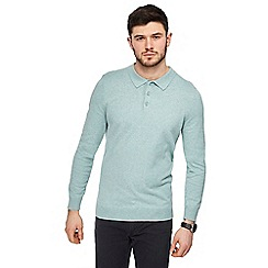 Red Herring - Green long sleeve polo shirt