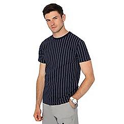 Red Herring - Navy striped slim fit t-shirt