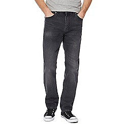 Red Herring - Dark grey straight leg jeans