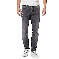 Red Herring - Grey washed slim fit jeans
