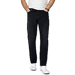 Red Herring - Big and tall black slim fit jeans