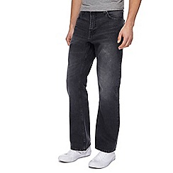 Red Herring - Grey washed bootcut jeans