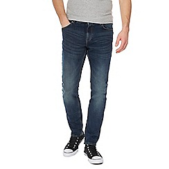 Red Herring - Dark blue vintage wash skinny fit jeans
