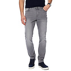 Red Herring - Big and tall grey skinny jeans