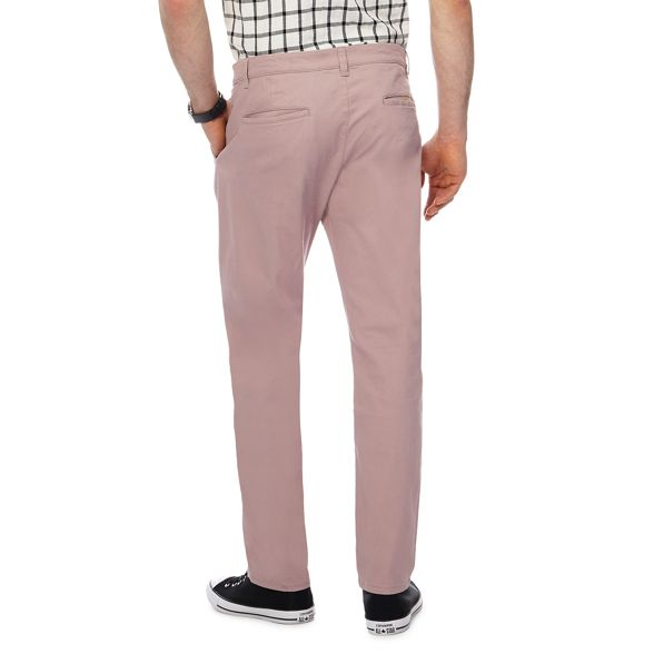 Dark pink Herring leg chinos Red slim q5nZUwn4
