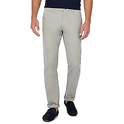 Red Herring - Light grey slim leg chinos