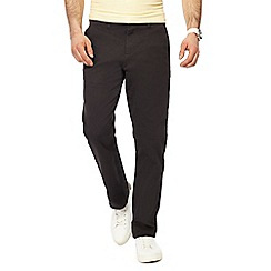 Red Herring - Dark grey straight fit chinos